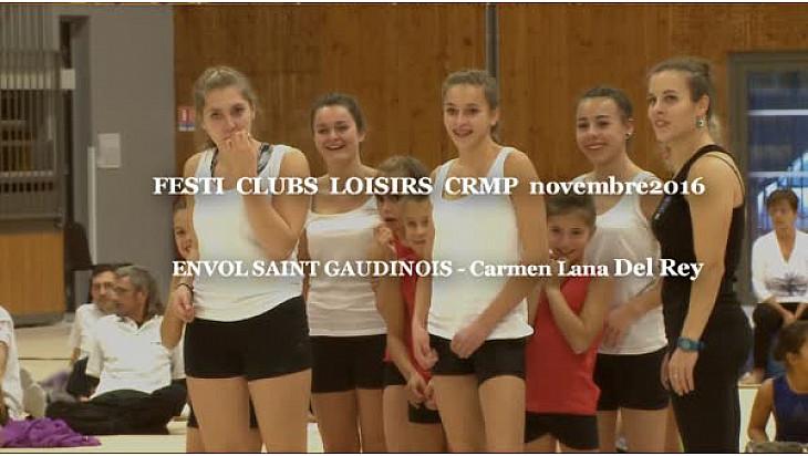 Gymnastique L'Envol Saint-Gaudinois au FESTI CLUBS LOISIRS du 19 novembre 2016
