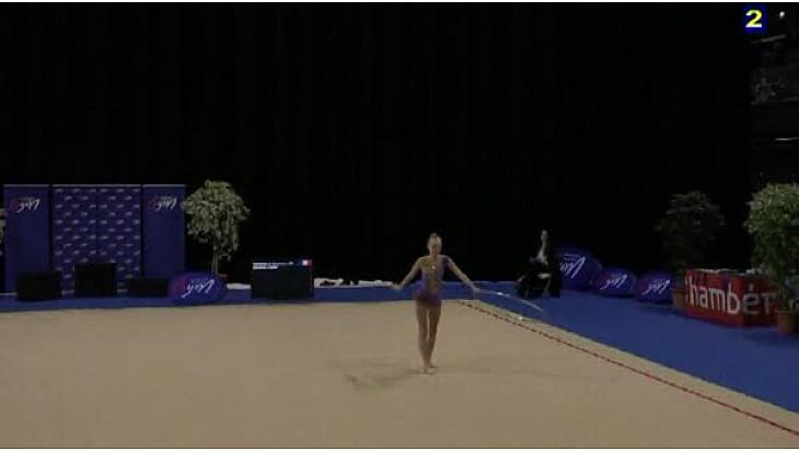 Exemples Difficultés Cerceau en Gymnastique Rythmique